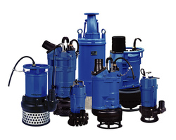 Solidpump submersible drainage and slurry pumps
